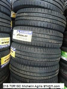 215 70R15C 109 107S Michelin Agilis
